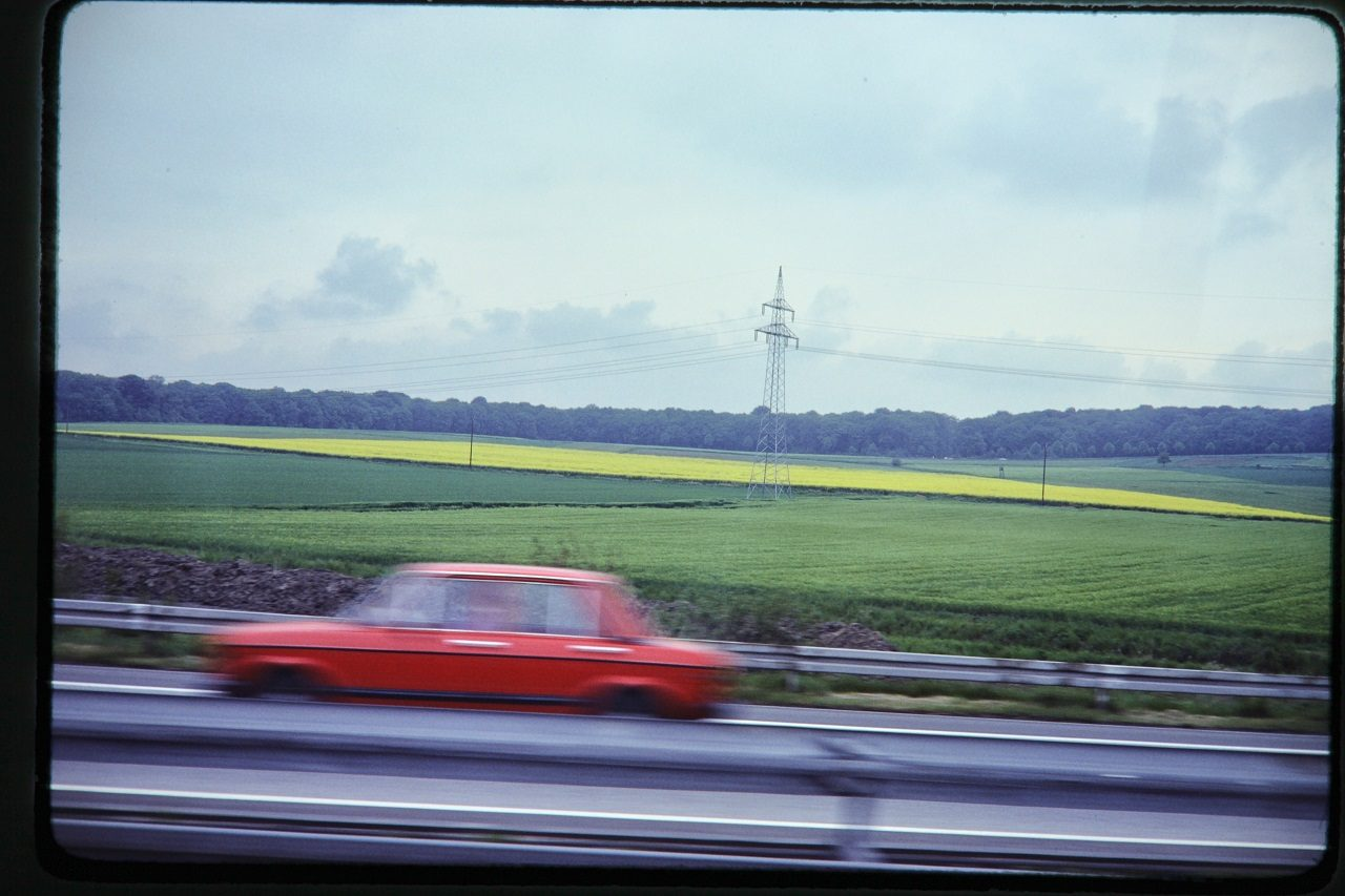 Autobahn, West Germany, 1980