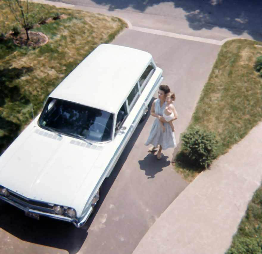 Family station wagon, Alexandria, Virginia, 1961