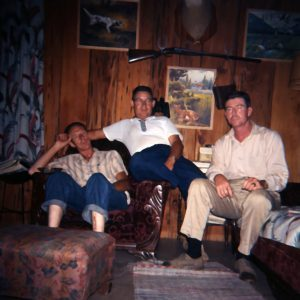 men in lodge