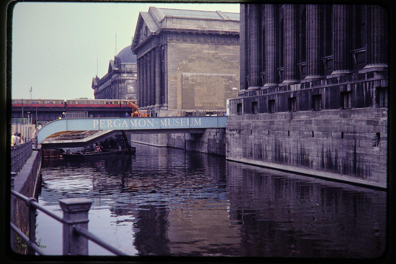 Museum Island, East Berlin, 1980
