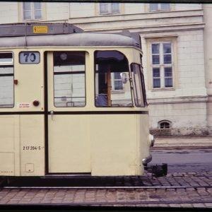 east berlin tram