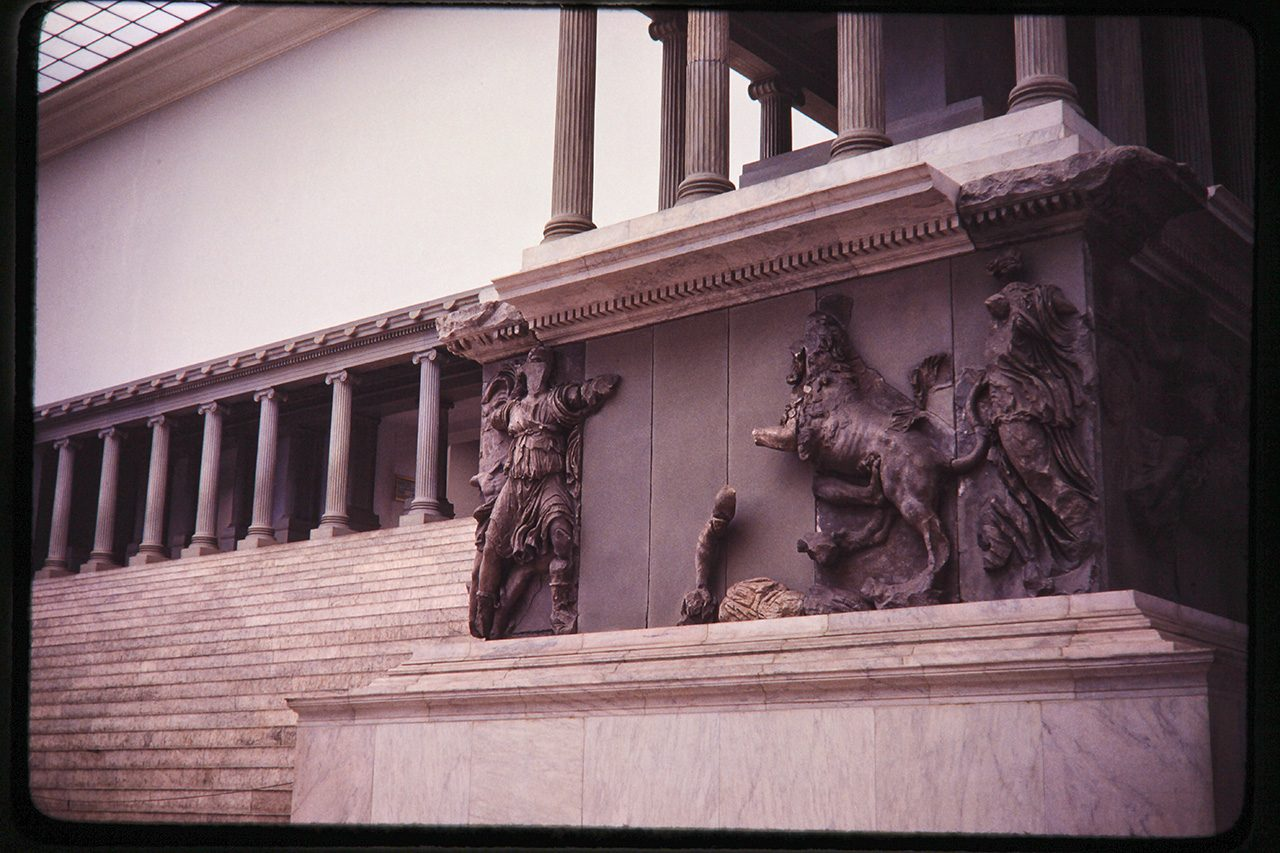 Pergamon Altar, East Berlin, 1980